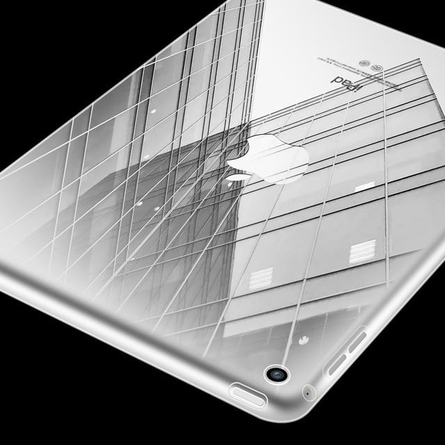 Чехол для нового ipad 2018 2017 9,7 дюйма прозрачного ударопрочного основа мягкий прозрачный TPU Тонкий Обложка для планшета с подарком AIYOPEEN