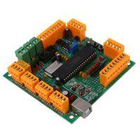 4 Assi USB CNC Controller Interface Board CNCUSB MK1 USBCNC 2.1 Substitute MACH3