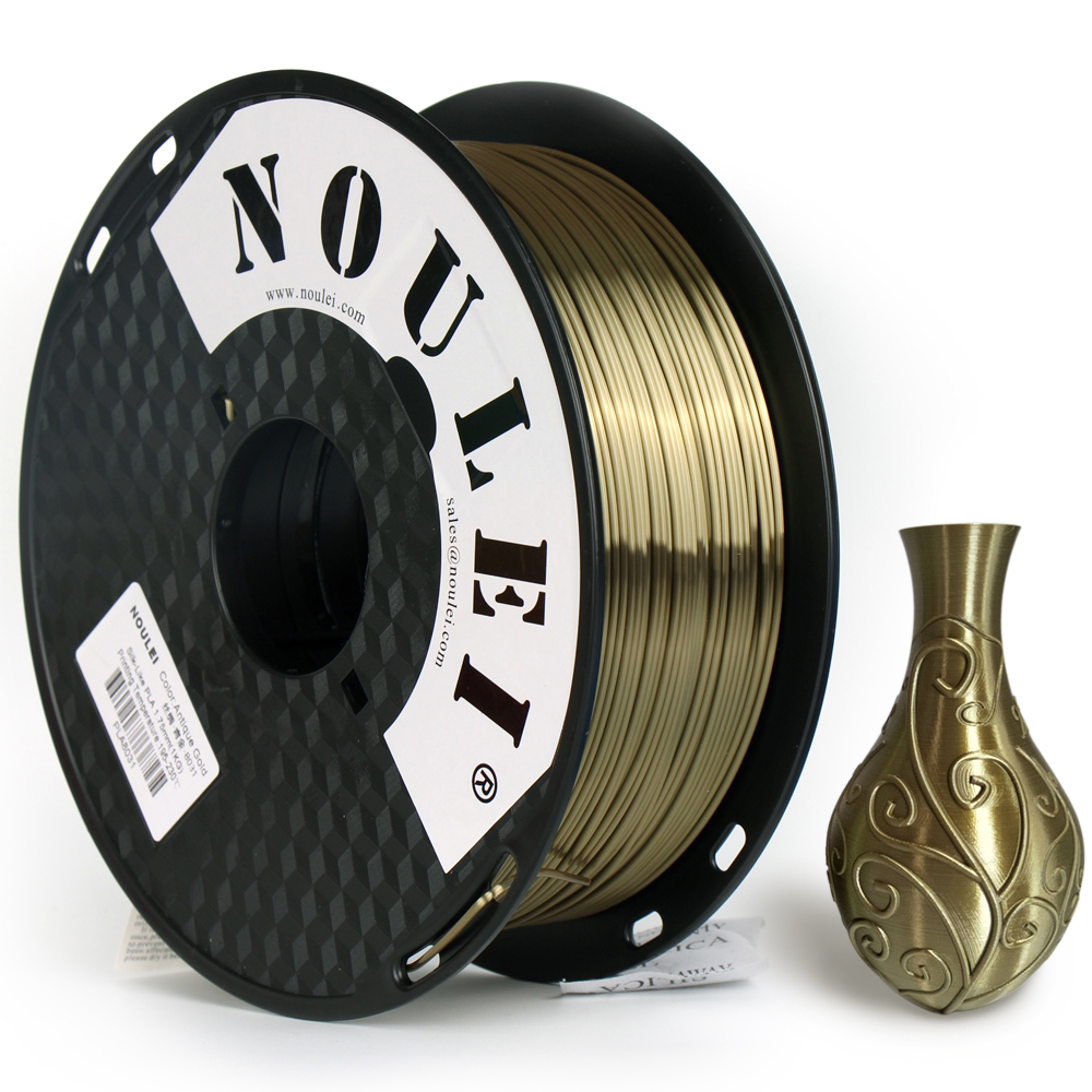 Aliexpress.com : Buy Noulei 1.75mm PLA Silk Antique Gold