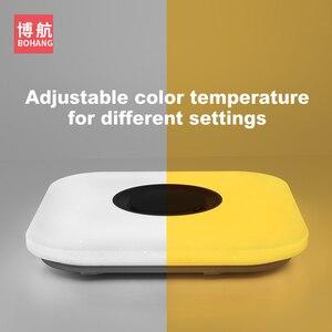 Image 5 - מודרני אינטליגנטי LED תקרת מנורת RGB dimmable APP שלט Bluetooth רמקול סלון חדר שינה 90 260v תקרה אור