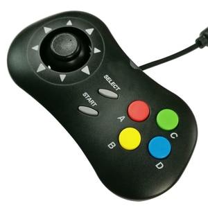 Image 4 - Mini controller mini pad gamepad joystick+ ABCD buttons for neogeo