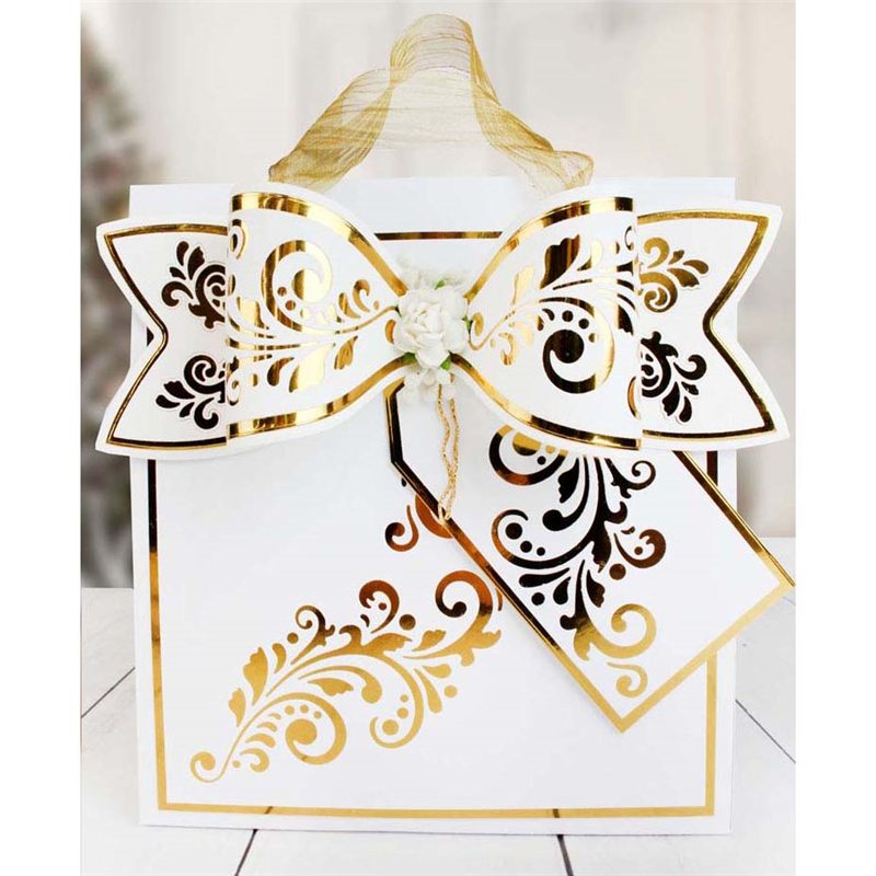 Eastshape Bow Tie Festival Metal Cutting Dies DIY Gift Decoration New 2019 Scrapbooking for Card Embossing Template Stencil Cut