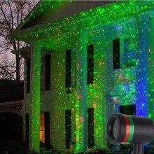 Фотография Outdoor Laser Projector Light Waterproof Garden Path Pond Lawn Sky Laser Shower Lamp Christmas Xmas Holiday Spotlight