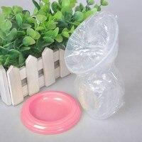 Baby Feeding Manual Breast Pump Partner Breast Collector Automatic Correction Breastmilk Silicone Breast Pump