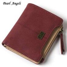 Mini Wallet Female Brand Fashion Leather Women Wall