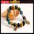 Declaração Elastic Hamsa fátima mão cristal contas de pedra pulseira artesanal estrela Bangle pulseiras para mulheres Man casamentos jóias