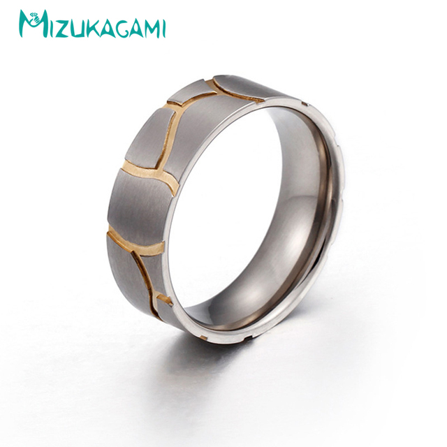 9ee13dd905d3 2018 Venta caliente corriendo boda geométrica de Metal Anillos hueco banda  de Anillos de titanio Material para las mujeres de diseño elegante