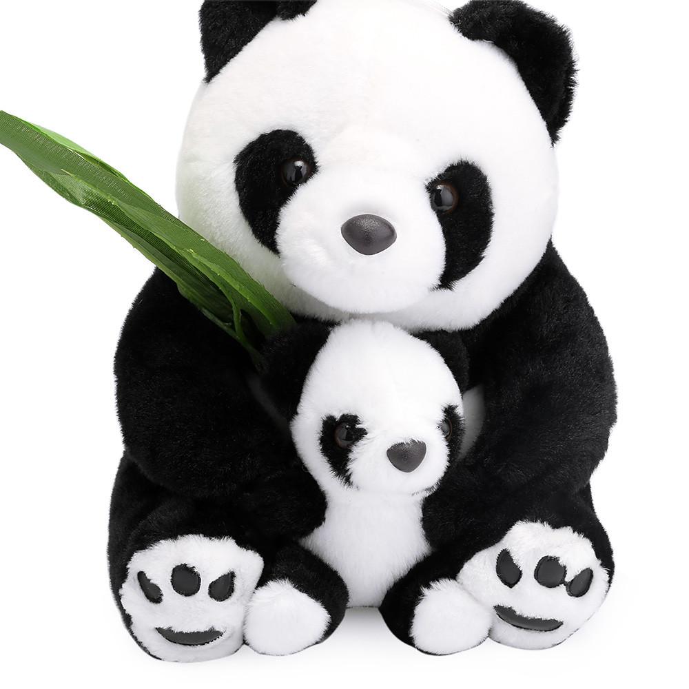 cm beb madrenio panda de peluche lindo mueco de peluche de juguete de