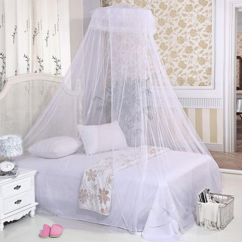 New romantic home simple design dome elegant polyester for Bed with mosquito net decoration