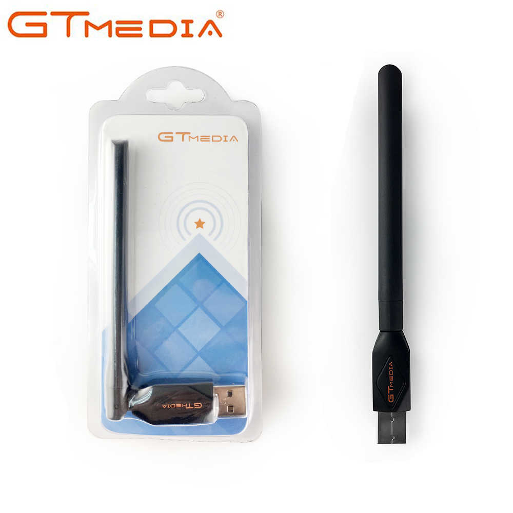2.4 GHz GTMEDIA USB WiFi Met Antenne Werk Voor GTMEDIA V7S V7 PLUS Digitale Satellietontvanger Receptor Voor HD TV set Top Box