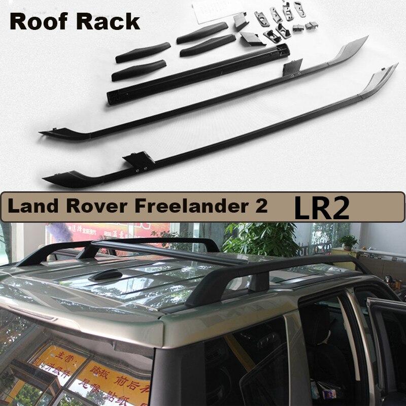 Автомобильный багажник на крышу Чемодан стойки для Land Rover freelander 2 LR2 2004 2017 высокое качество Фирменная Новинка алюминиевый сплав авто аксессуары