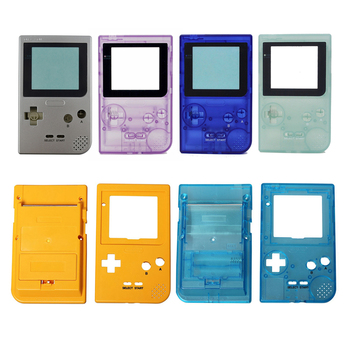 100PCS Plastic Shell Cover Case housing for Nintendo Gameboy for GBP Pocket Game Console Replacement 6 colors