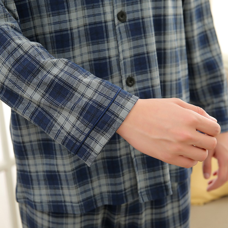Men\'s Cotton Polyester Pajama Sets RBS-C LYQ1414 50