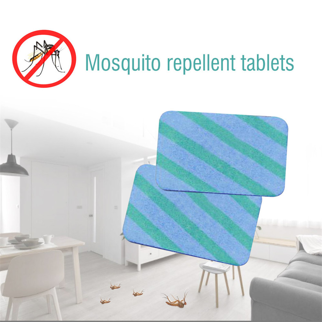 50Pcs//Set Mosquito Insect Repellent Tablets Replacement Plug in Adaptor Mats