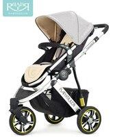 Babyruler Baby Cart, High Landscape, Bidirectional Sitting, Lying, Portable Carriage, Three Wheel Shock Absorber, Child Car