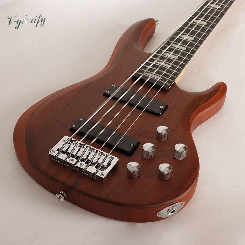 Новый активный звукосниматель 5 бас гитары с двойной регулировки через средства ухода за кожей шеи для professional play