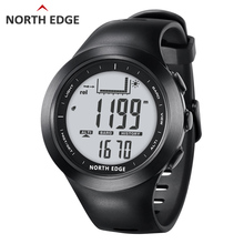 Men Digital outdoor watch waterproof 100m clock Fishing weather Altimeter Barometer Thermometer  Climbing Hiking hours NORTHEDGE