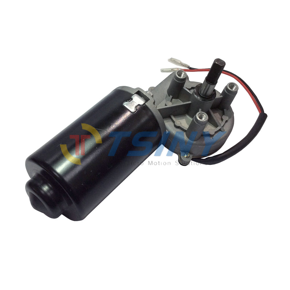 Right-phase Motor High Torque 8N.m 24V DC Reversible Electric Gear Motor 50 RPM Double Flat Shaft цены