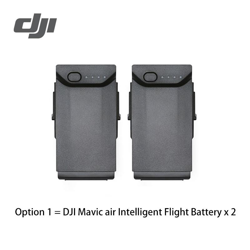 DJI Mavic de la batería del coche del cargador de batería de Vuelo Inteligente hecho con alta densidad de litio volar más de 21 min para Mavic aire