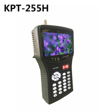 KPT-255H TVI/CVI DVB-S/S2 Digital Satellite Finder Meter with MPEG-2/MPEG-4 compliant backlight Better