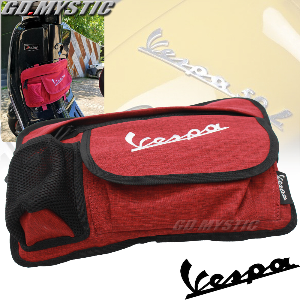 New Glove Bags Storage Bag For Piaggio Vespa 150 125 200 All Model GTS 300ie Super LX 125FL GTS 125ie Super GTS 300