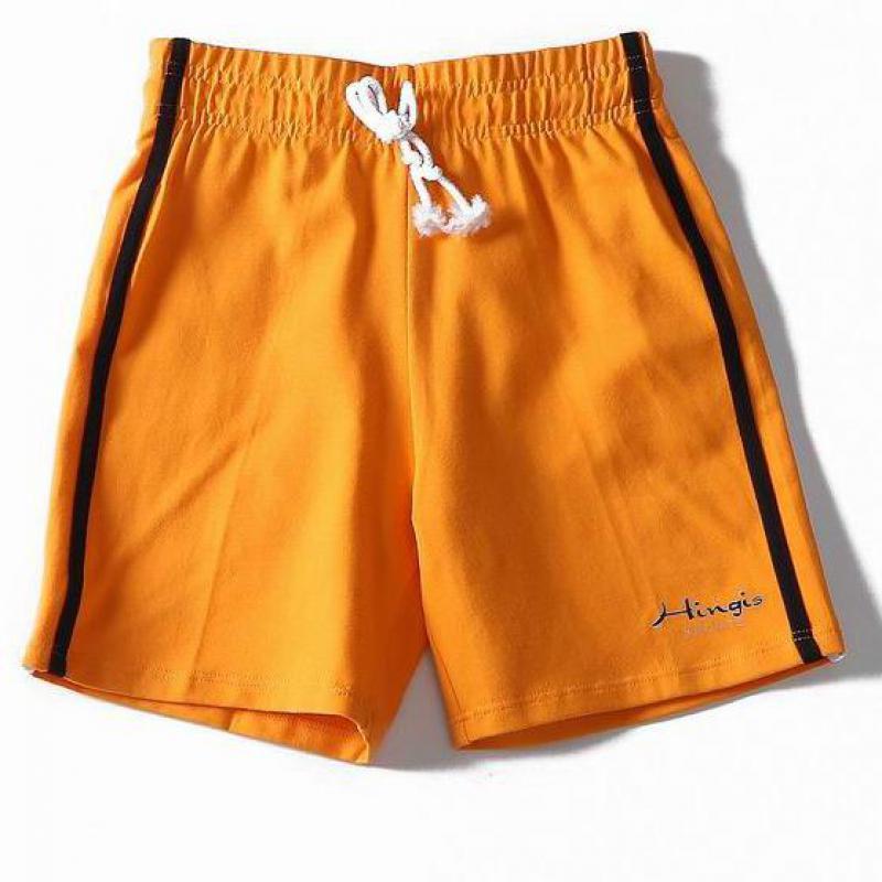 שלושה מכנסיים רחב רגל חמה ספורט ריצה מכנסיים קצרים דוגמניות רופף ייבוש מהיר לנשימה אלסטי כושר מכנסיים קצרים
