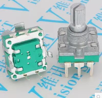 🛒[vm4i2] 2pcs ALPS EC16 No stepping Rotary Encoder / Light Handle