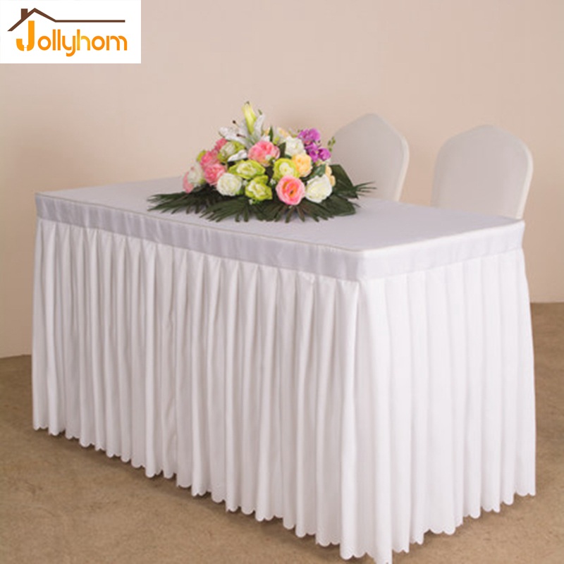 pure solid reception desk cover cloth rectangle decor office table cover meeting wedding party 20 color cover desk