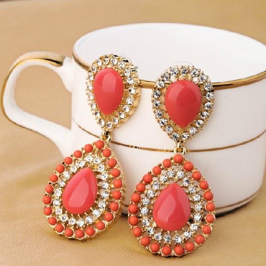 Fashion Jewelry Latest Bohemia Style Drop Earrings Factory Wholesale