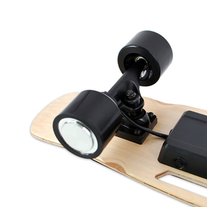 Image 5 - 도착 전기 스케이트 보드 성인 및 청소년을위한 무선 핸드 헬드 원격 제어와 휴대용 전기 스케이트 보드