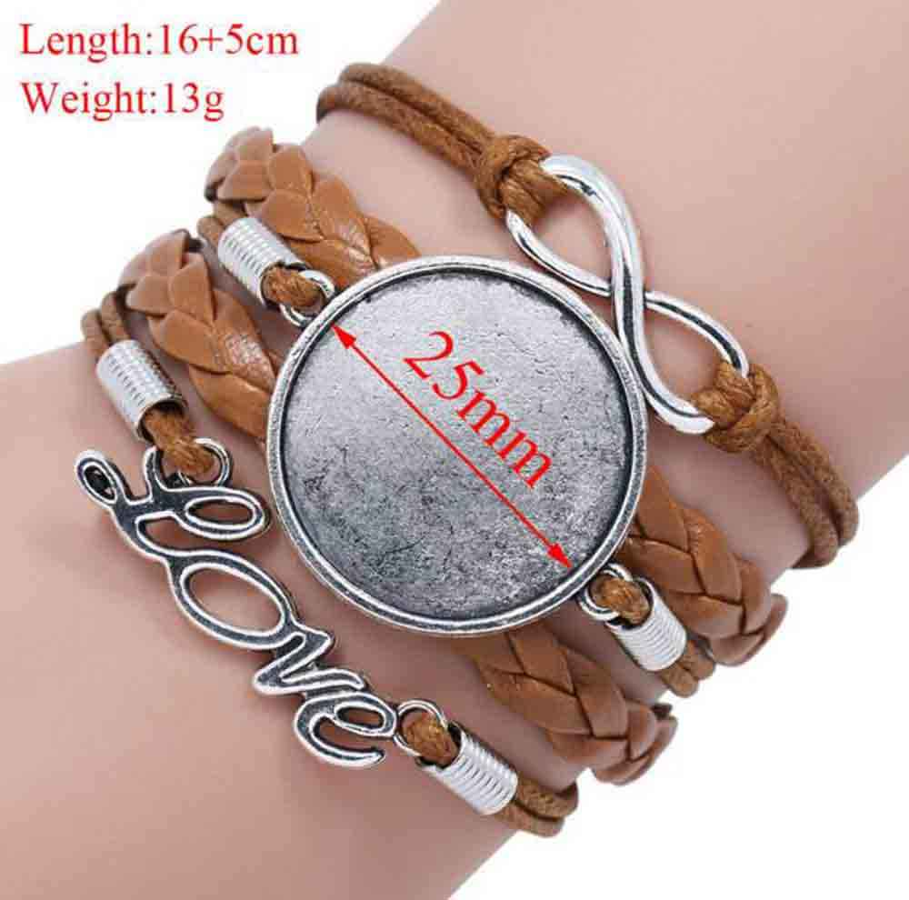 Wholesale Glass Dome Blessed bracelet Christian bracelet Scripture Jewelry  Scripture bracelet