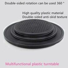 Модель ручной работы Глиняная скульптура Многофункциональный пластиковый поворотный стол двухстороннее вращение может быть использован 360 градусов глиняный промышленный дизайн