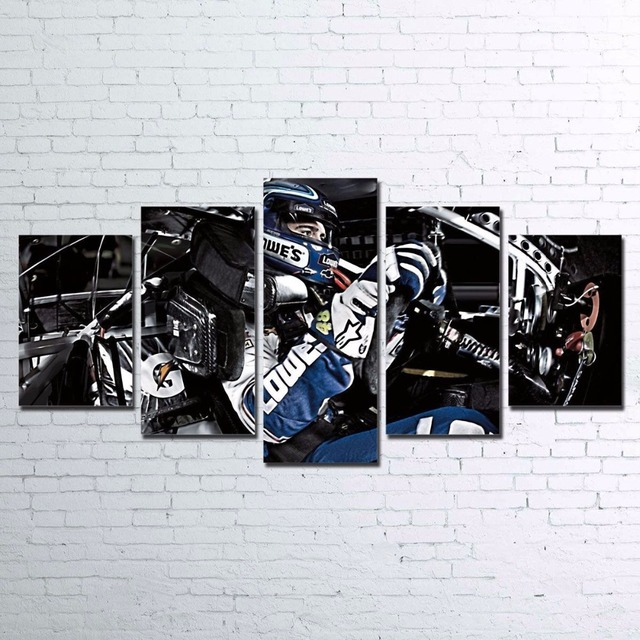 Canvas HD Prints Poster Living Room Wall Art Framework 5 Pieces ...