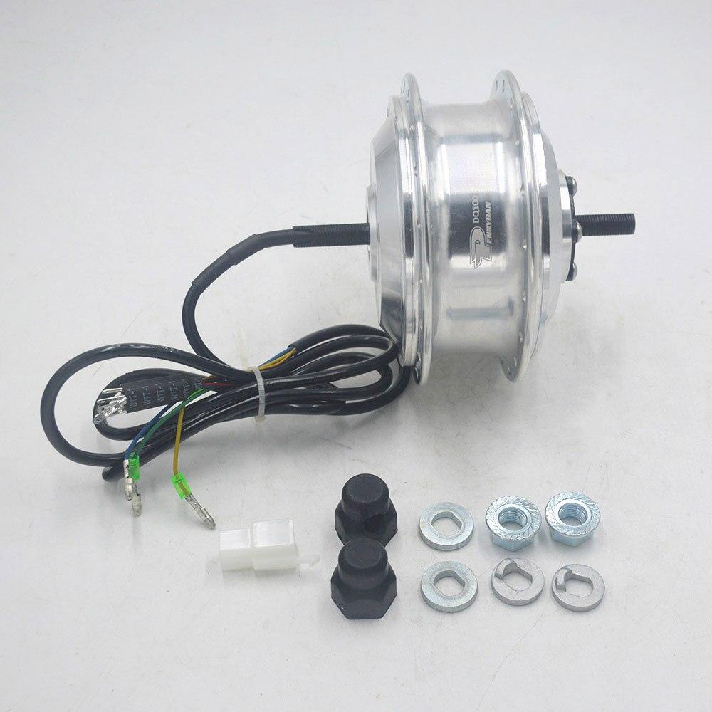 36V 250W bicicleta eléctrica hub motor de alta velocidad de cambio de buje sin escobillas Motor de e-bike motor rueda frontal de motor coche DQ100