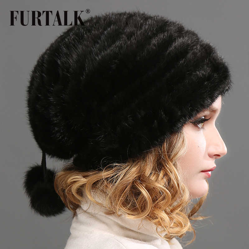 f7347e7ce08 Detail Feedback Questions about Natural mink fur baggy hat for women ...