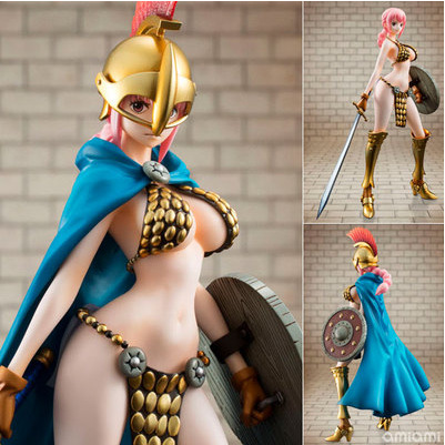 22cm One Piece Gladiator Rebecca Action Figure High Quality Collection Model Toy anime one piece dracula mihawk model garage kit pvc action figure classic collection toy doll