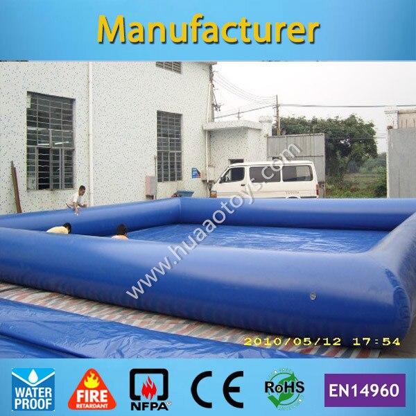 Qualité commerciale 5x5 m piscine gonflable adulte piscine à balles gonflable piscine gonflable (pompe à air gratuite + livraison gratuite)