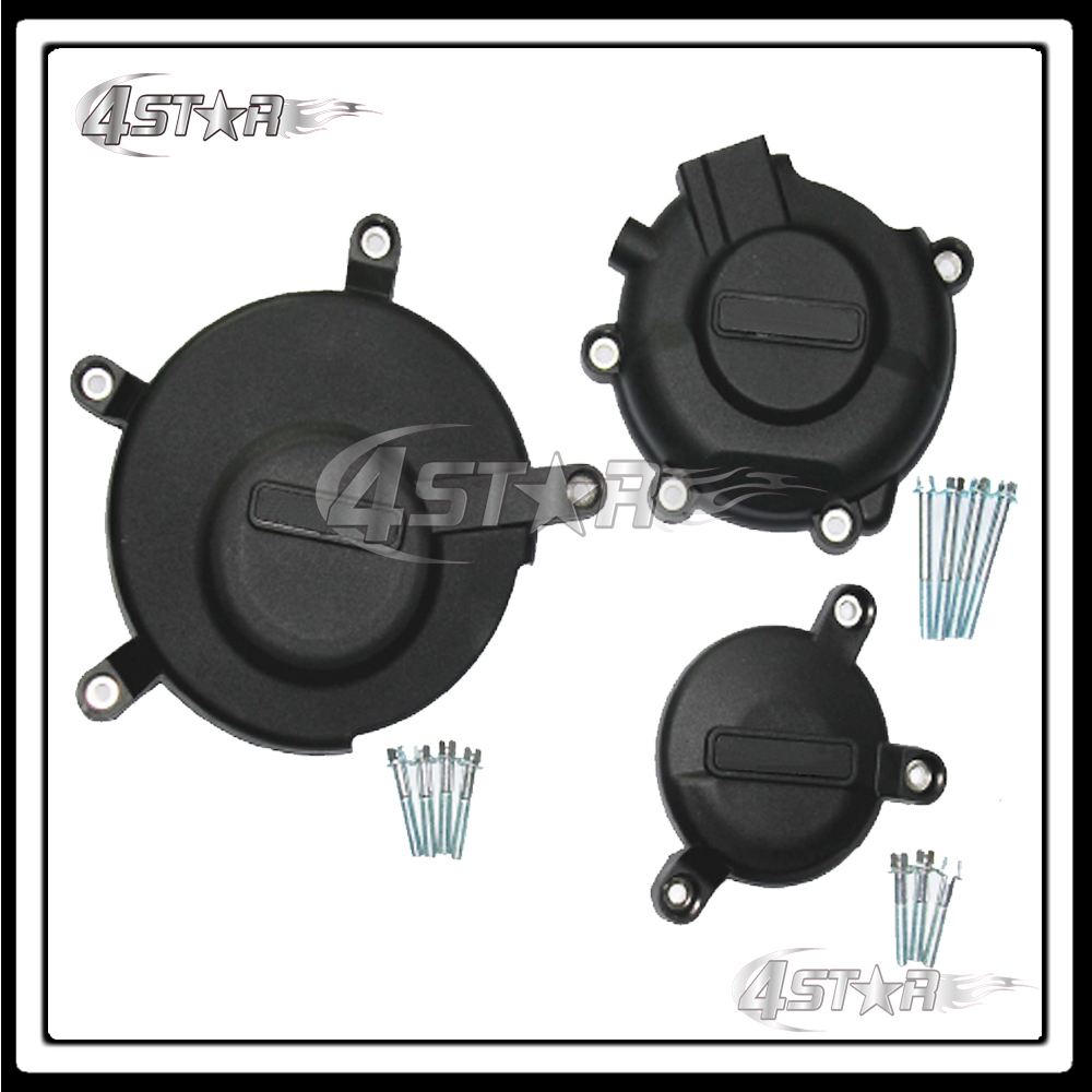 Motorcycle Racing Set Engine Cover Protection Case Kit For GSXR600 GSXR750 2006 2007 2008 2009 2010 2011 2012 2013 2014 2015 car rear trunk security shield shade cargo cover for nissan qashqai 2008 2009 2010 2011 2012 2013 black beige