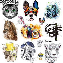 ZOTOONE Fashion clothes printing patch hot transfer manual DIY offset stamping pattern heat press D