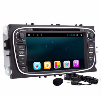Digital TV(Optional) Qual core Android 8.1 Car DVD GPS player For Ford Mondeo Ford Focus 2012 2013 2014 2015 Radio Autoradio Nav image