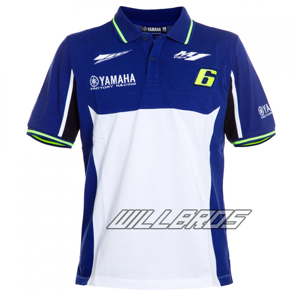 100% Cotton Luna M1 Racing Team Moto GP Polo Shirt Motorcycle for Yamaha Polo T-Shirt100% Cotton Luna M1 Racing Team Moto GP Polo Shirt Motorcycle for Yamaha Polo T-Shirt