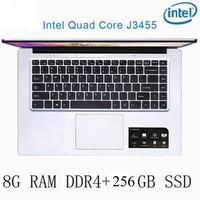 256g ssd intel P2-15 8G RAM 256G SSD Intel Celeron J3455 מקלדת מחשב נייד מחשב נייד גיימינג ו OS שפה זמינה עבור לבחור (1)