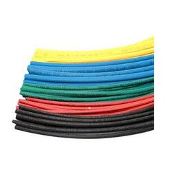 Prix usine 1 mètre/lot 2:1 noir 1 2 3 5 6 8 10mm diamètre thermorétractable Tube thermorétractable gaine Wrap fil vendre 2019