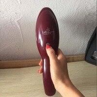 Kıl ve Naylon Detangle Saç Fırçası Kadın Saç Derisine Masaj Tarak için Islak Saç Fırçası Salon Kuaförlük Şekillendirici Araçları