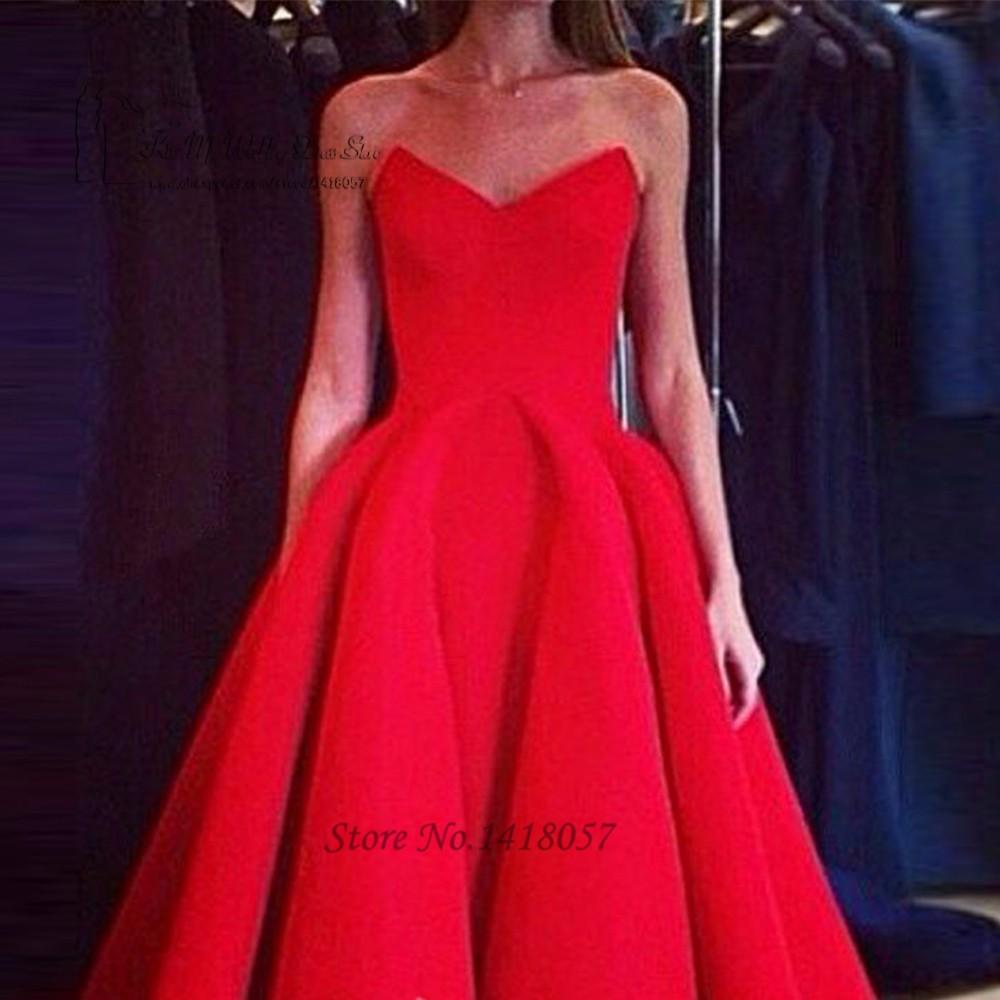 5eed5beea1f установлены Красные Короткие Платья Выпускного Вечера Высокого Как Атласная Чай  Длина Платье Короткие Передние Вечерние Платья 2016 Vestido де Феста курто