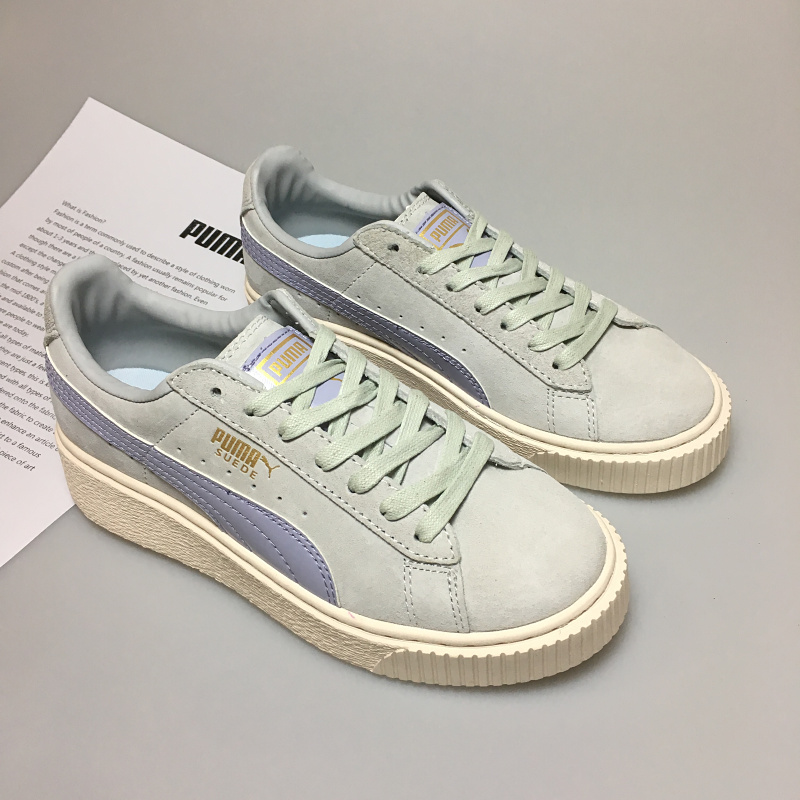 4be5206b4f91 2018 New arrive Puma by Rihanna Suede Creepers women s and men shoes  Breathable Badminton Shoes Sneakers size 36 39-in Badminton Shoes from  Sports ...