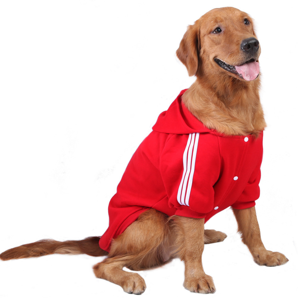 New Pattern Pets Clothes Golden Retriever Samoye Dog Clothing Will Dog Clothes Pure Cotton Athletic Wear Generation Hair CW-YF11