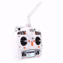 F09924 Walkera DEVO 10 10CH 2 KM 2.4 Ghz Telemetría Función Transmisor + Receptor RX1002 Color Blanco para Walkera Helis helicóptero