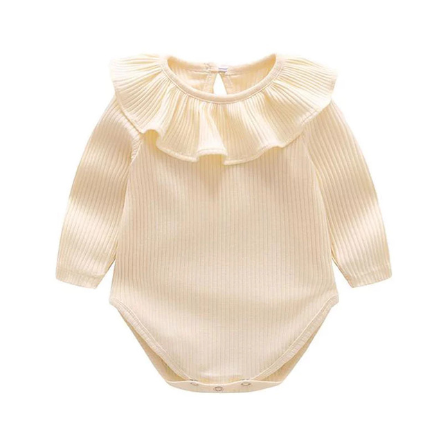 63d08065e Baby Girls Rompers Spring Cotton tutu Clothing Full Colorful Kids ...