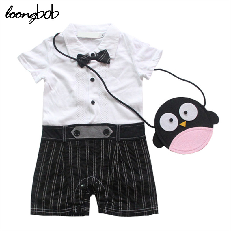 New summer baby rompers infantil short sleeve bow collar gentleman jumpsuit baby boy clothing kids costume bebes roupas clothes baby rompers newborn baby boy clothes spring short sleeve childrens clothing kids jumpsuits roupa infantil body bebes jumpsuit